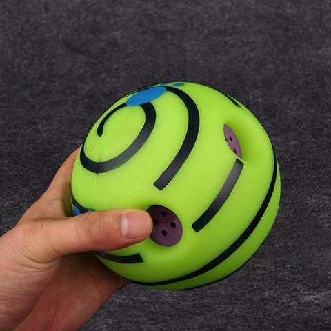 Toys Wobble Wag Giggle Activation Ball Yellow