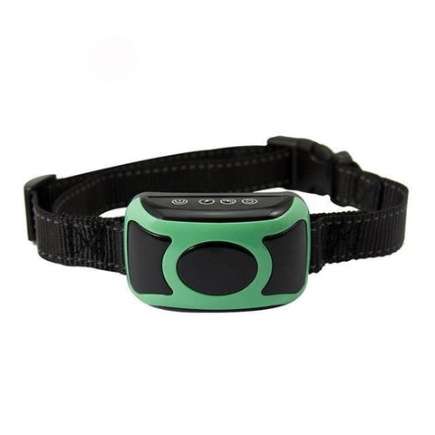 Image of Training and behavior Digital Flashing Light Collar With Smart Chip Green