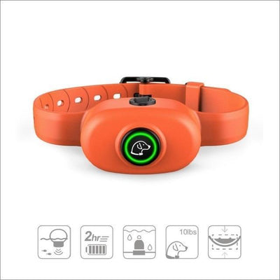 Training and behavior Electric Shock Anti-Bark Collar Orange