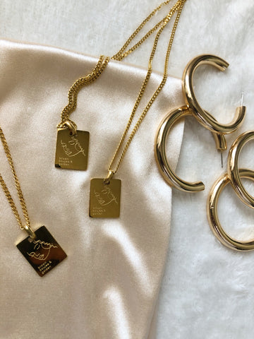 Gold necklace chain for women| Black owned jewelry brand