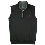 CAVES SOLID QUARTER ZIP VEST