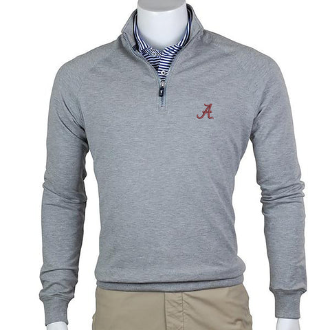OLD SCHOOL QUARTER ZIP PULLOVER