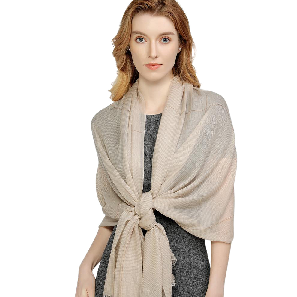Seamless Sophistication Wool Shawl