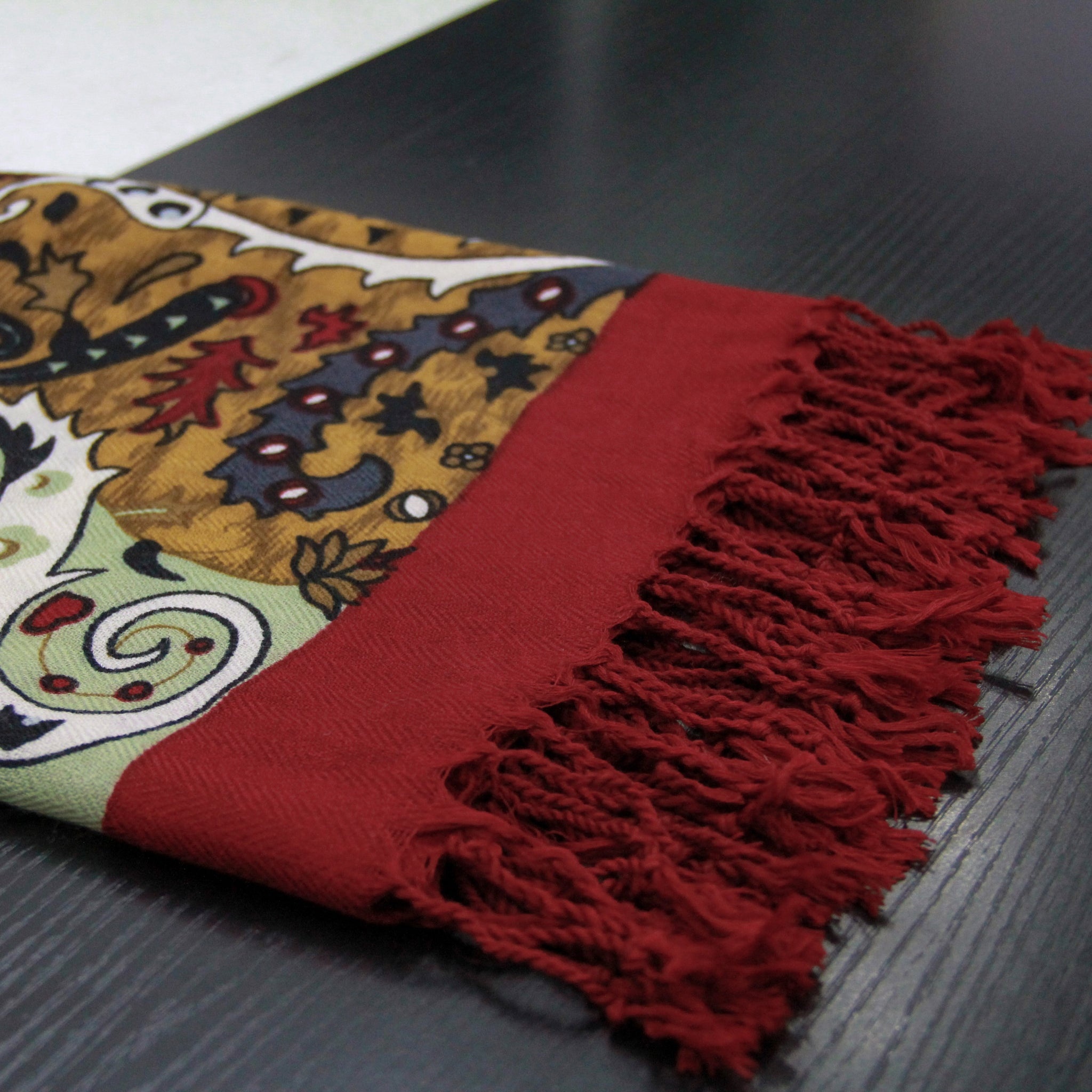 Baroque Wool Shawl