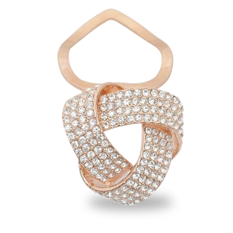 Knotted Scarf Ring