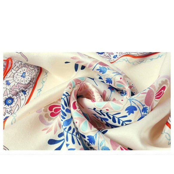 Papillon Square Silk Neckerchief