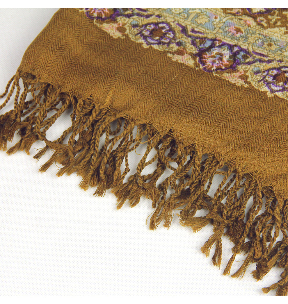 Esther Paisley Wool Shawl