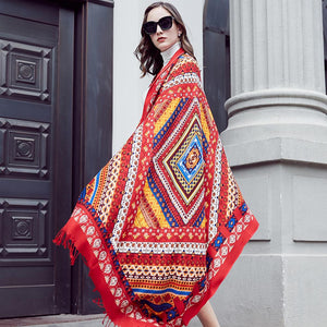 Persian Love Wool Shawl