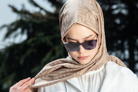Bronze Muscat Luxury Hijab