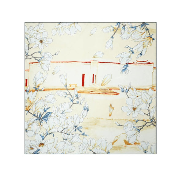 Summer House Square Silk Scarf