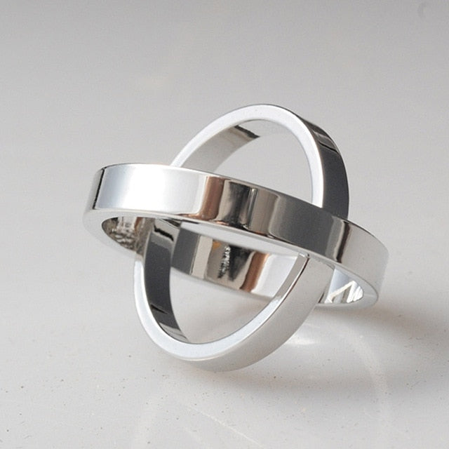 Double Atlas Scarf Ring