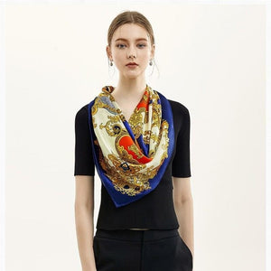 Regal Square Silk Scarf