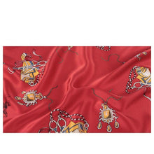 Tiny Playground Square Silk Scarf