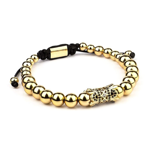 Royal Gold Bead- 1pc