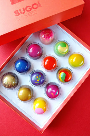 BONBON BOX of 12 - Original Collection (RESERVE)