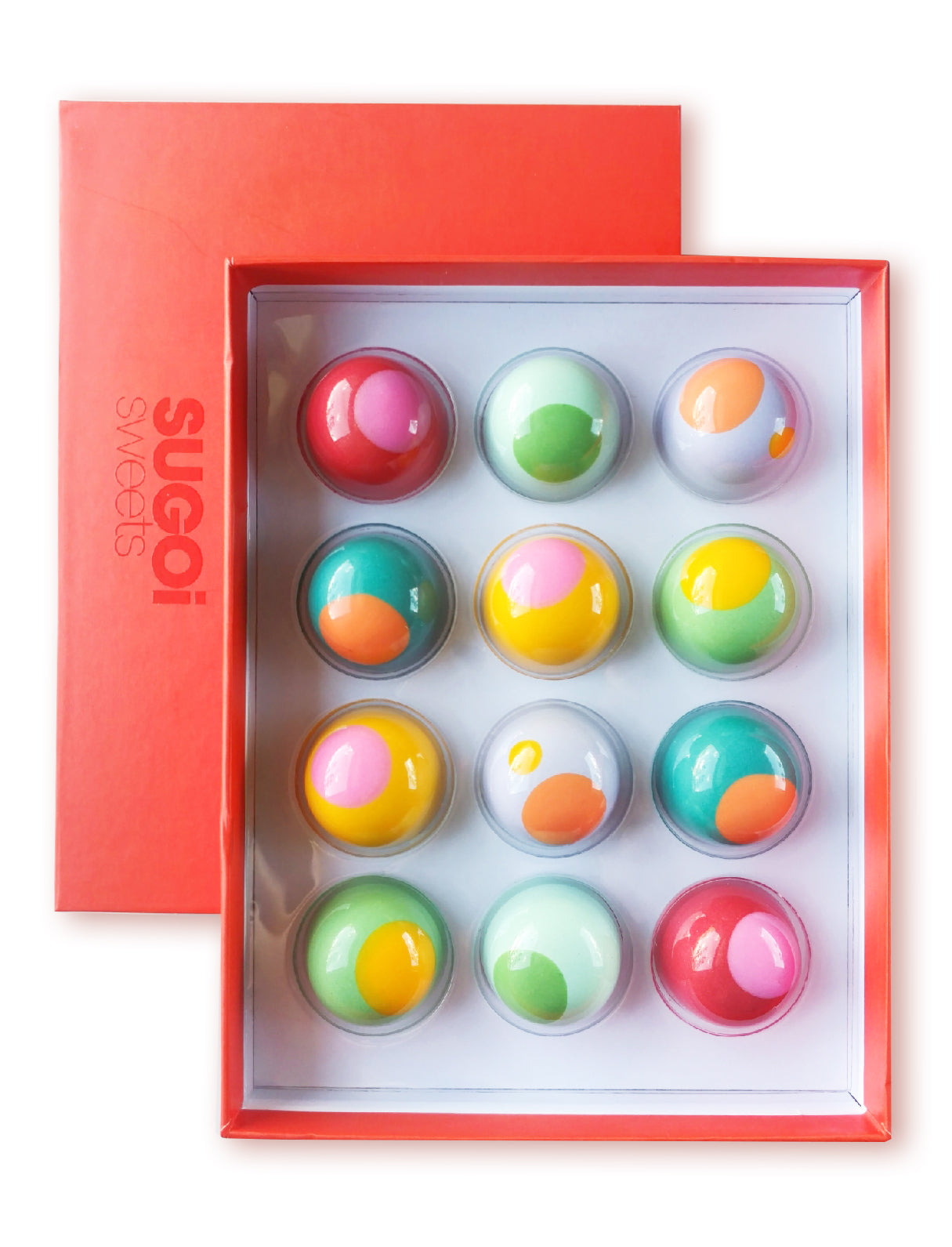 BONBON BOX of 12 - Playful Collection