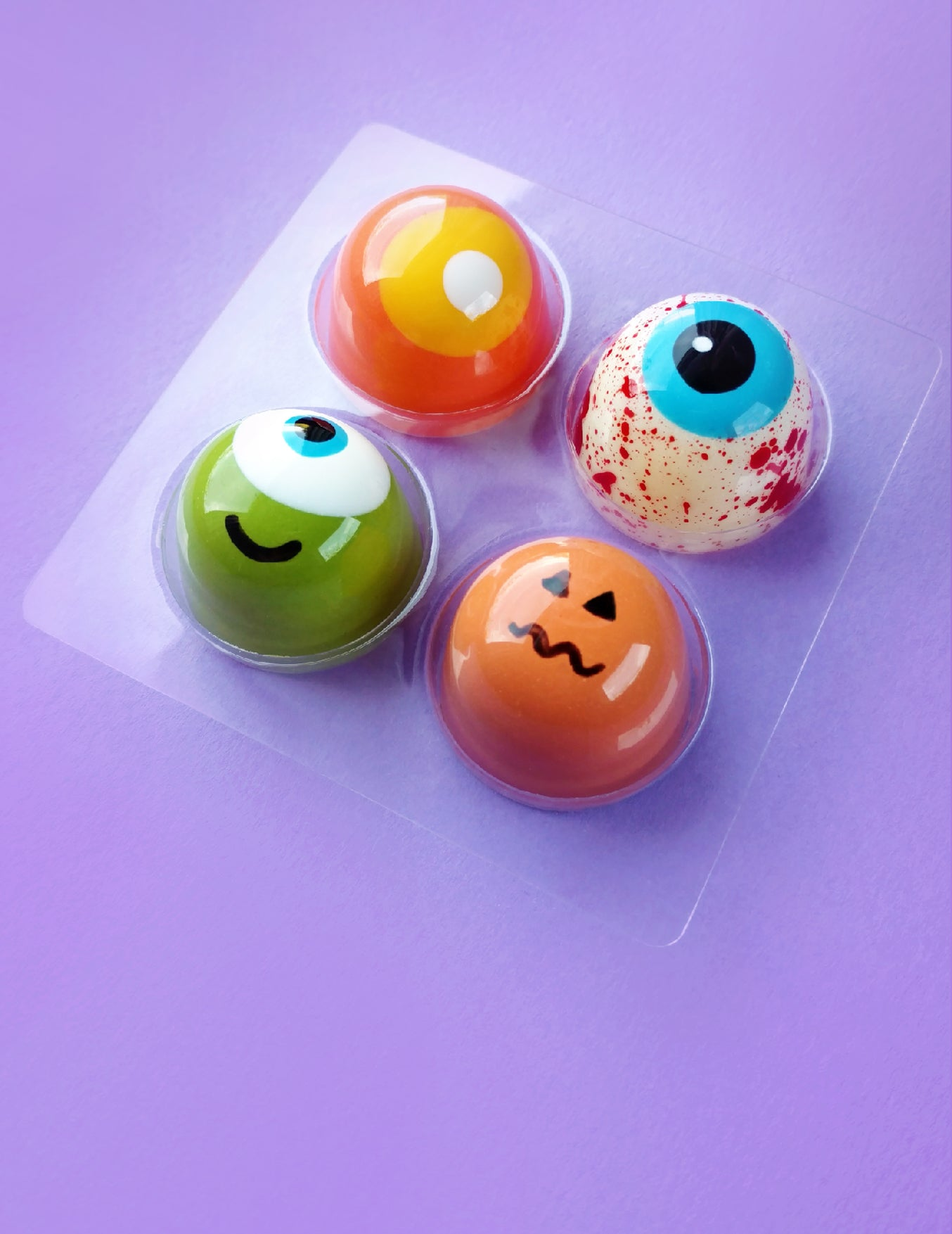 HALLOWEEN COLLECTION BONBON BOX of 4