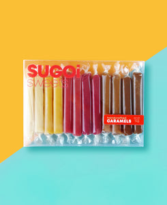CARAMEL BOX of 12-Assorted flavors