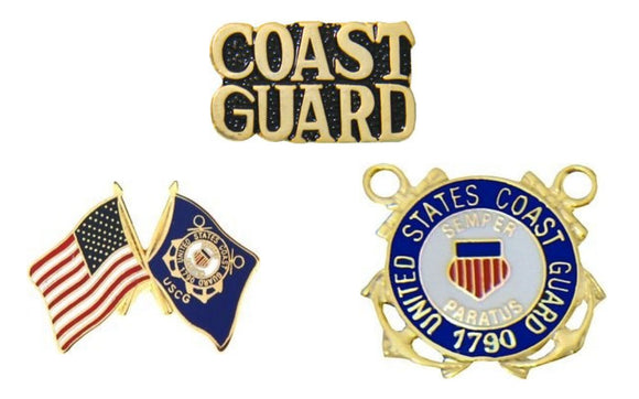 Coast Guard Hat Pins