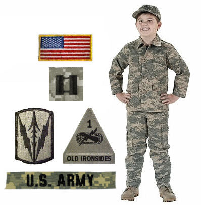Kids Military Halloween Costumes
