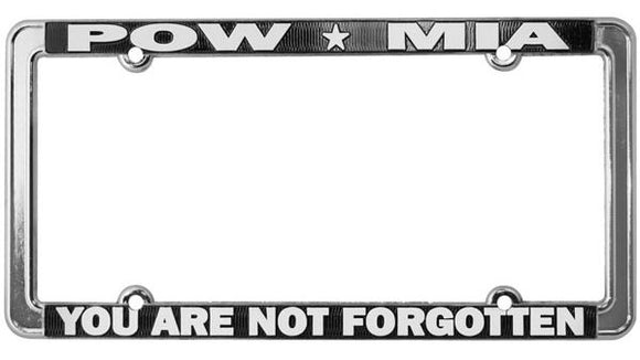 POW-MIA License Plate Frames