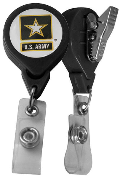 Military Retractable Badge Holders