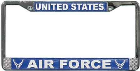 Air Force License Plate Frames
