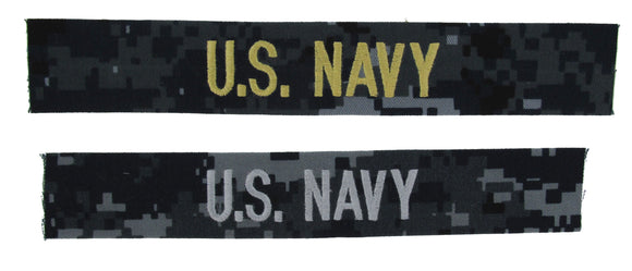 U.S. Navy Name Tapes