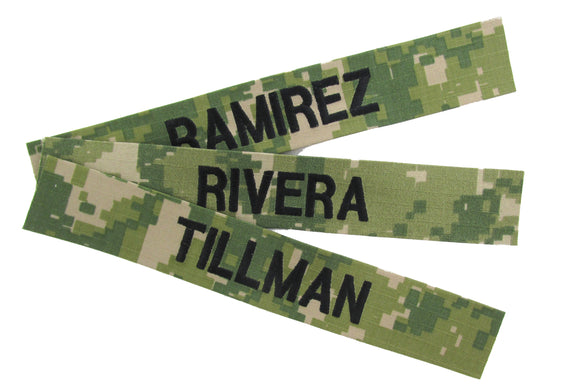 Personalized Name Tapes