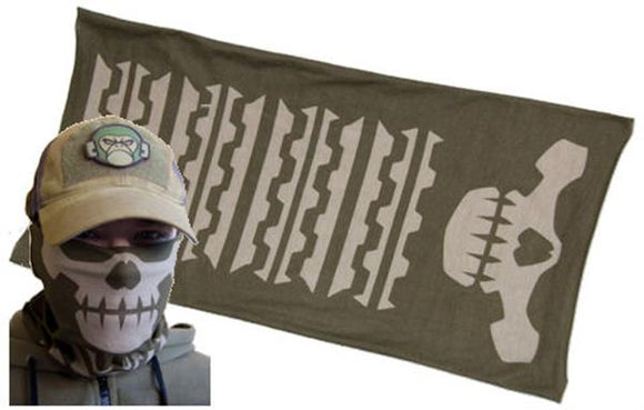Mil-Spec Monkey Skull Mask Multi-Wrap