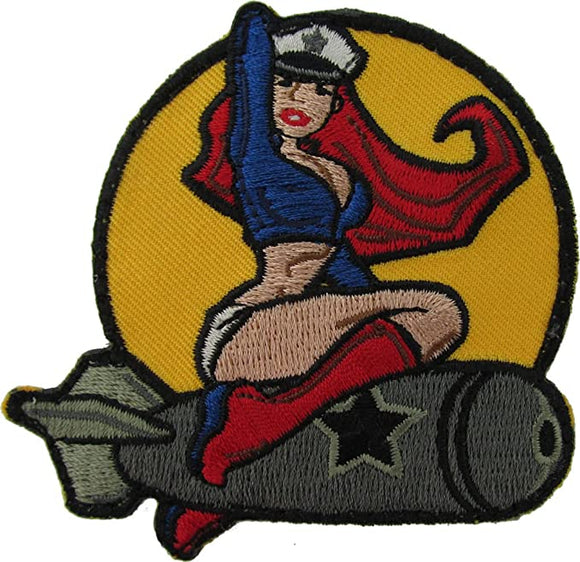 Pinup Girl Morale Patch - Mil-Spec Monkey