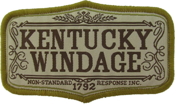 Kentucky Windage Morale Patch - Mil-Spec Monkey