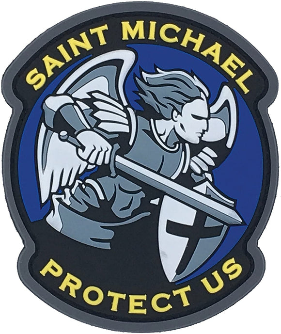 Saint Michael Morale Patch PVC - Mil-Spec Monkey