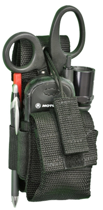 Radio Holder with Tactical Light Pouch