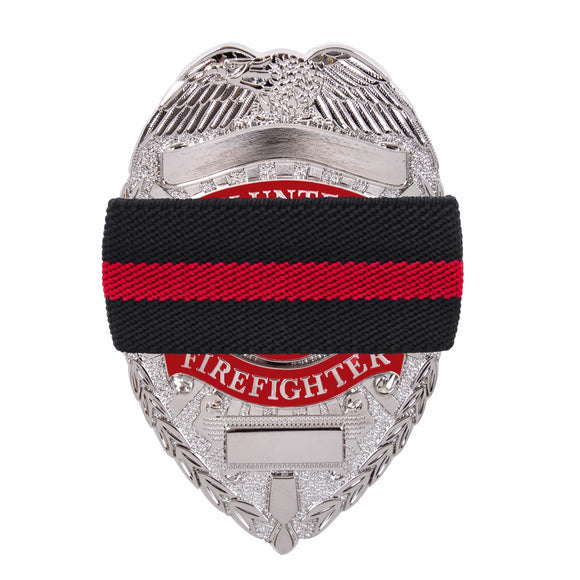 Thin Red Line Mourning Band