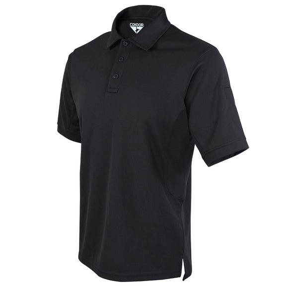 Condor Men's Performance Tactical Polo Black