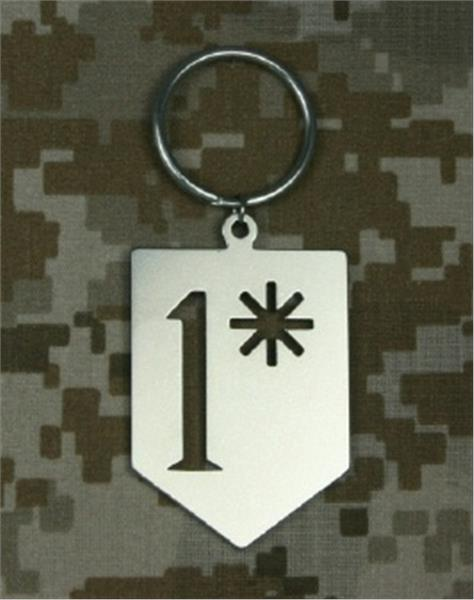 1* Asterisk (Ass to Risk) Keychain