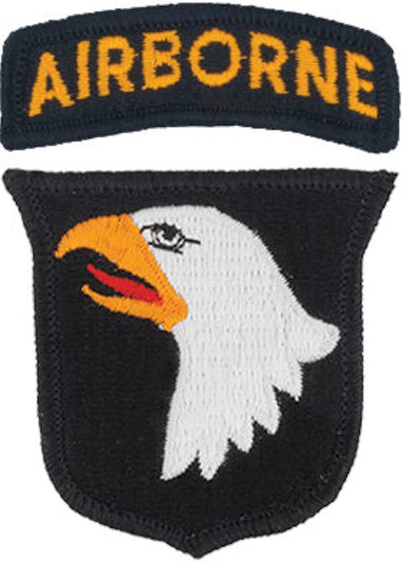 101st Airborne Division Patch with Airborne Tab