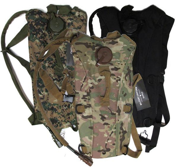 Military Uniform Supply Hydration Pack - Various Colors