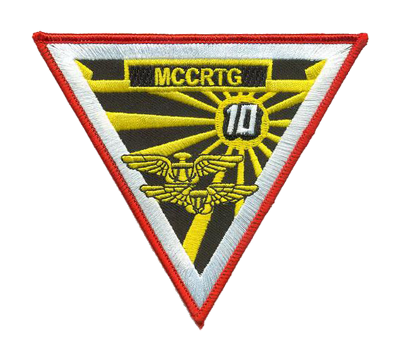 Marine Combat Crew Readiness Training Group 10 USMC Patch