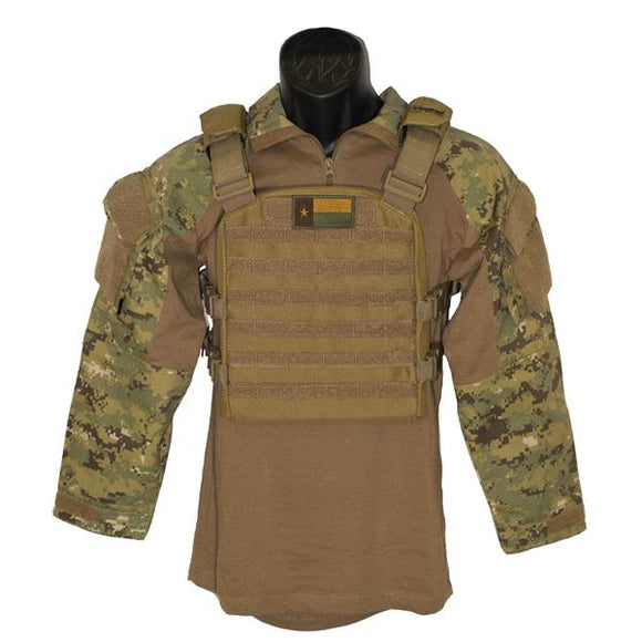 Trooper Youth Coyote Overwatch Plate Carrier Coyote Brown