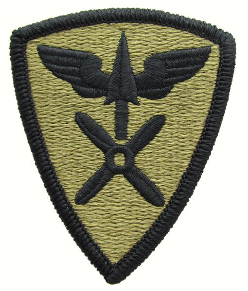 110th Aviation Brigade OCP Patch