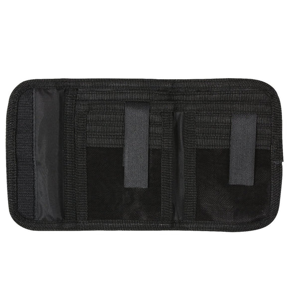 Rothco Deluxe Tri-Fold ID Wallet Black