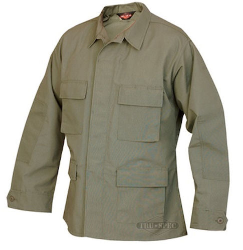 CLEARANCE - Tru-Spec BDU Jacket - Olive Drab