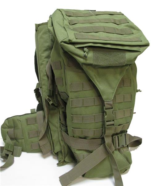 Military Uniform Supply Backpack with Rifle Holder - Hunting Pack