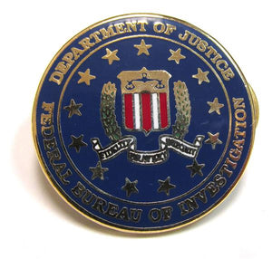 FBI Seal Pin - Federal Bureau of Investigation