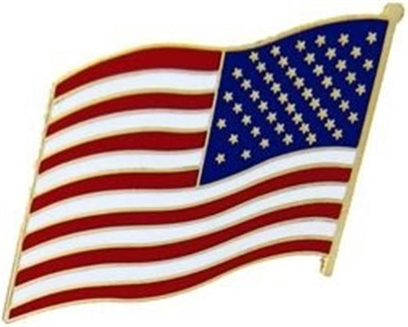 United States Flag Pin - Left