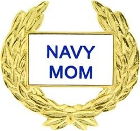 US Navy MOM Small Pin Size 1 1-8