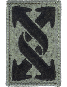 143rd Transportation Command ACU Patch - Foliage Green - Closeout Great for Shadow Box