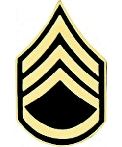 U.S. Army E-6 SSG Staff Sergeant Hat Pin - Novelty Item